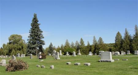 village cemetery hill
